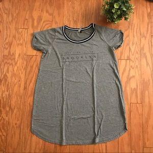 Cotton On Brooklyn Ringer Neck T-shirt Dress